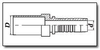Фитинг BEL - чертеж